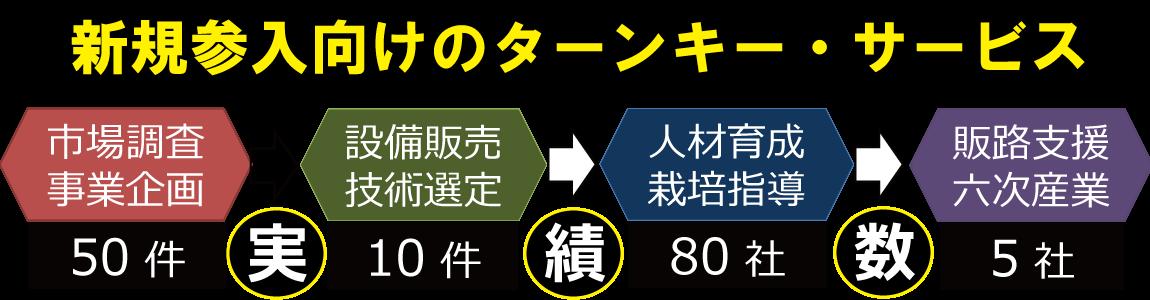 植物工場・参入支援サービス【生産事業】